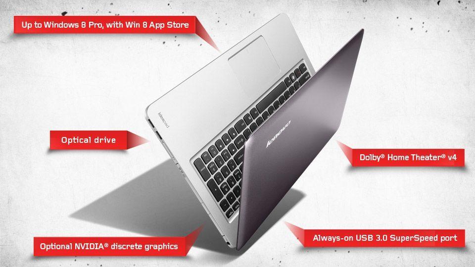 Bietet ein ansprechendes Preis-Leistungs-Verhältnis: Das Lenovo U510. (Grafik: Lenovo)